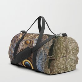 Owl butterfly in Costa Rica - Tropical moth Duffle Bag