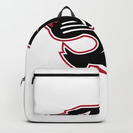 Aggressive Panther Head Icon Backpack