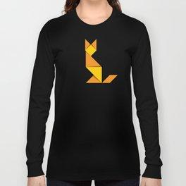Yellow Cat Long Sleeve T-shirt