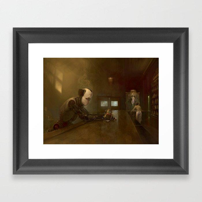 NORM Framed Art Print