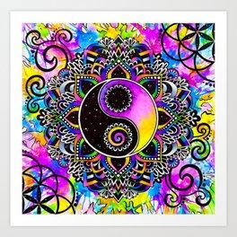 Magical Balance Art Print