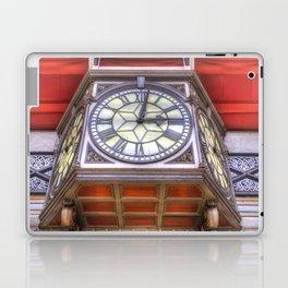 Paddington Station Clock Laptop & iPad Skin
