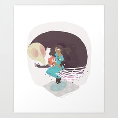 I've Been Lied To / Now I'm Fuzzy Art Print