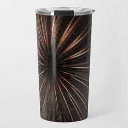 Dark Metal Sun Travel Mug