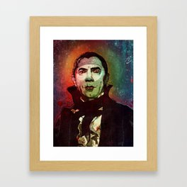 Bela Lugosi - Dracula (MALDITA SEA TU ESTAMPA) Framed Art Print