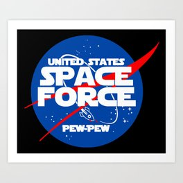 Space Force 2 Art Print