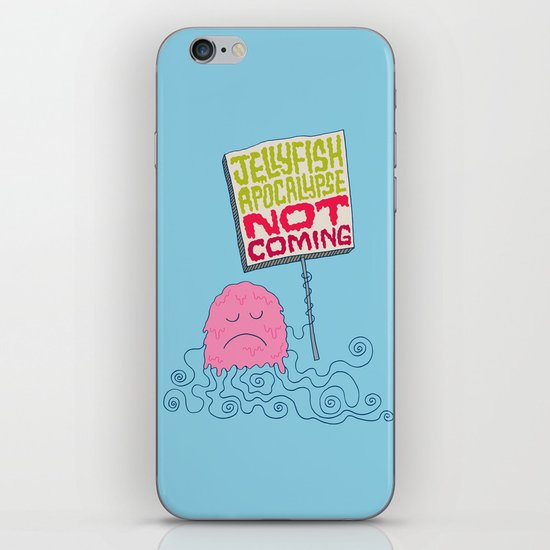 Jellyfish Apocalypse Not Coming iPhone & iPod Skin