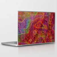 bands Laptop & iPad Skins featuring Bands II by RingWaveArt