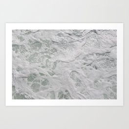 Water beside the Ferry Art Print