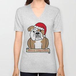Bully Christmas Unisex V-Neck