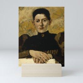 George Hendrik Breitner - Sara de Swart (1861-1951) Mini Art Print
