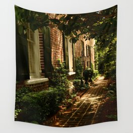 Beautiful Charleston Alley Wall Tapestry