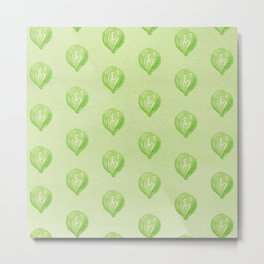 Brussels Sprouts Metal Print