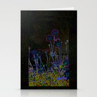 leather Stationery Cards featuring Leather floral by Lydia Cheval