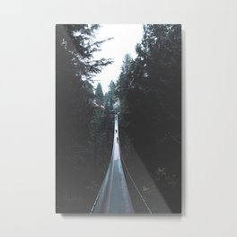 Vancouver Forest Metal Print