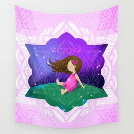 VICTORIA - NETILA AND FATI'S Wall Tapestry
