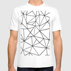 Ab Out 2 Mens Fitted Tee White SMALL