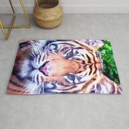 Tiger Tiger Burning Bright Rug