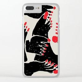 Feet Clear iPhone Case