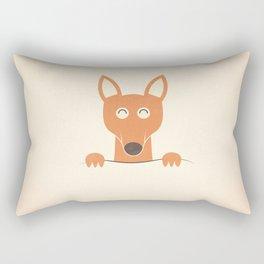 Pocket Kangaroo Rectangular Pillow