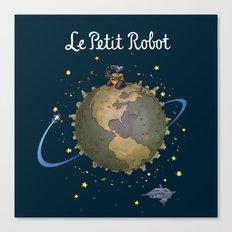 Le Petit Robot Canvas Print
