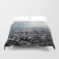 ombre Duvet Covers featuring Ombre by Amy Muir