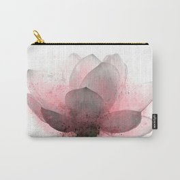 Flower 6 Pink Lotus Carry-All Pouch
