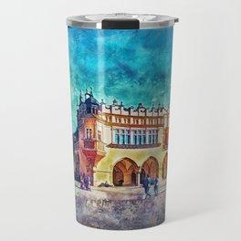 Cracow Main Square Travel Mug