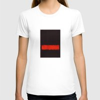 rothko T-shirts featuring Black, Red and Black 1968 Mark Rothko by Rothko