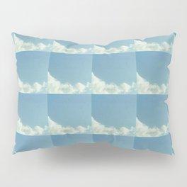 Cloud and sky 8 -cloud, sky, blue, positive,optimism Pillow Sham