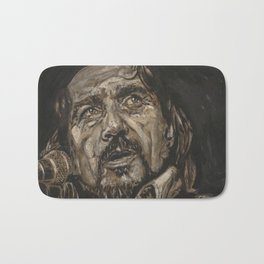 Waylon Jennings Bath Mat