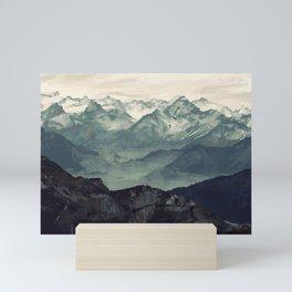 Mountain Fog Mini Art Print