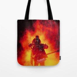 The Demon Rises Tote Bag