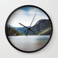 Lake Bohinj, Slovenia Wall Clock