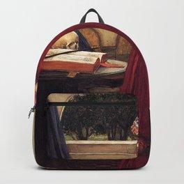 John William Waterhouse - The Crystal Ball Backpack