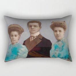 Blue bros Rectangular Pillow