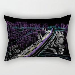 Tríptico Urbano Dos Rectangular Pillow