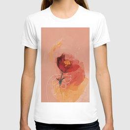 Hand Holding Flower T-shirt
