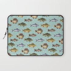 Watercolor Fish Laptop Sleeve