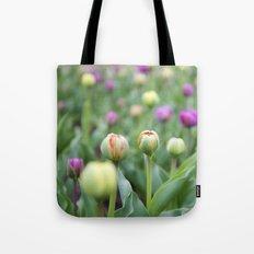 Tulip Bloom Tote Bag