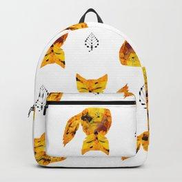 Pressed Flower Fox Print Backpack