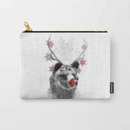 Rudolph the Bear Carry-All Pouch