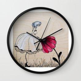He loves me, he loves me not Wall Clock