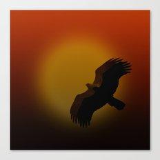Shadow flight Canvas Print