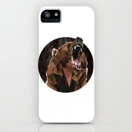 I can't bear these triangles! iPhone Case