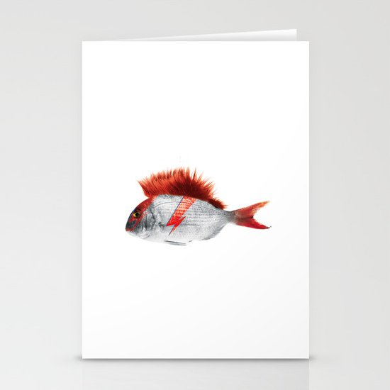 FISHY STARDUST Stationery Cards