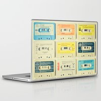 yellow Laptop & iPad Skins featuring All Tomorrow's Parties by Cassia Beck