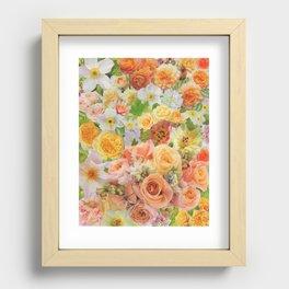 Summer Garden Recessed Framed Print