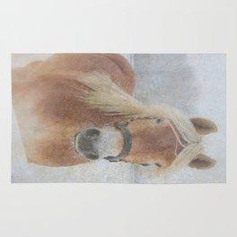 Winter Horse - JUSTART (c) Rug