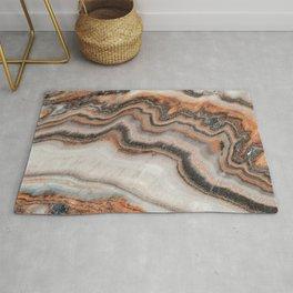 Copper Marble Granite Rug